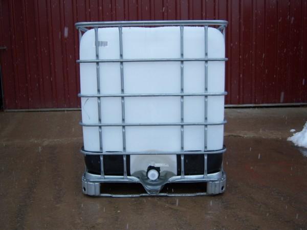 kunststofftank regentank 1000 liter regenfass wassertank 1m ebay. Black Bedroom Furniture Sets. Home Design Ideas