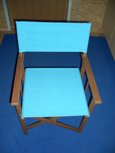 regiestuhl gartenstuhl holz blau bis 100 kg ebay. Black Bedroom Furniture Sets. Home Design Ideas